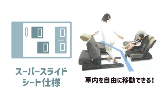 スーパースライドシート仕様について